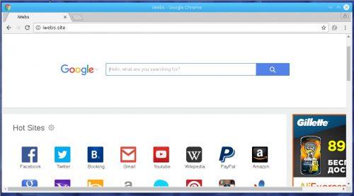 iwebs-site browser hijacker